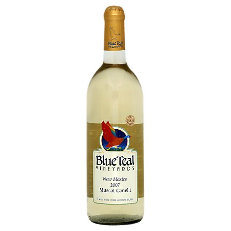 Blue Teal Vineyards Muscat Canelli Wine - 750 Ml