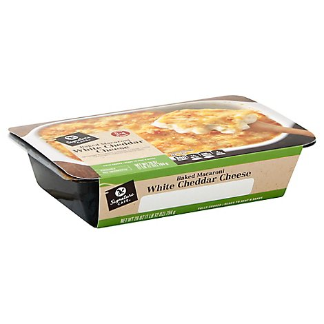 Signature Cafe Baked Macaroni White Cheddar Cheese Entre - 28 Oz.