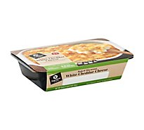 Signature Cafe Entree Family Size Baked Macaroni & White Cheddar Cheese - 28 Oz