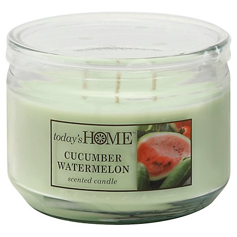 Todays Home Candle Cucumber Watermelon - 11 Oz