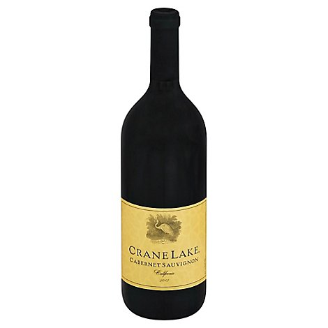 Crane Lake Cabernet Sauv Wine - 750 Ml