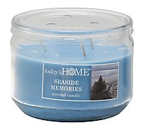 Todays Home Candle Seaside Memories - 11 Oz