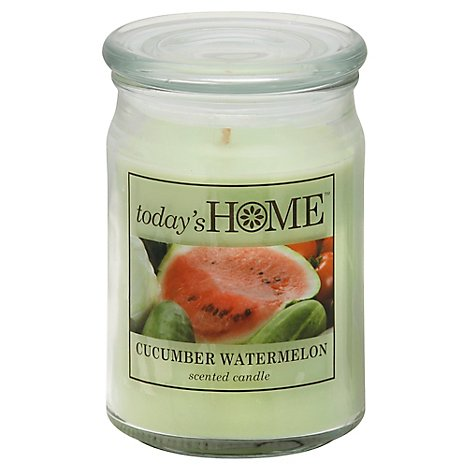 Todays Home Candle Cucumber Watermelon - 16 Oz