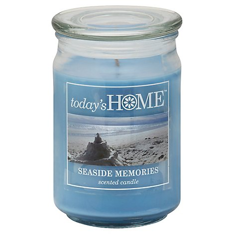 Todays Home Candle Seaside Memories - 16 Oz
