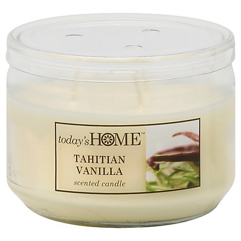 Todays Home Candle Tahitian Vanilla - 11 Oz