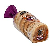 Signature SELECT Bagels Sliced Cinnamon Raisin 6 Count - 18 Oz