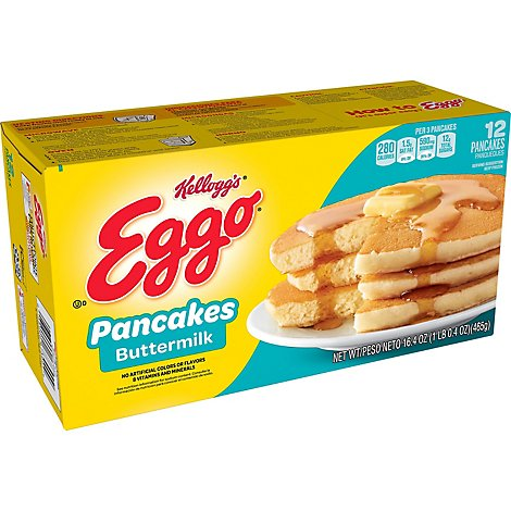 Eggo Frozen Pancakes Buttermilk - 16.4 Oz