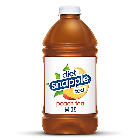 Snapple Diet Iced Tea Peach - 64 Fl. Oz.