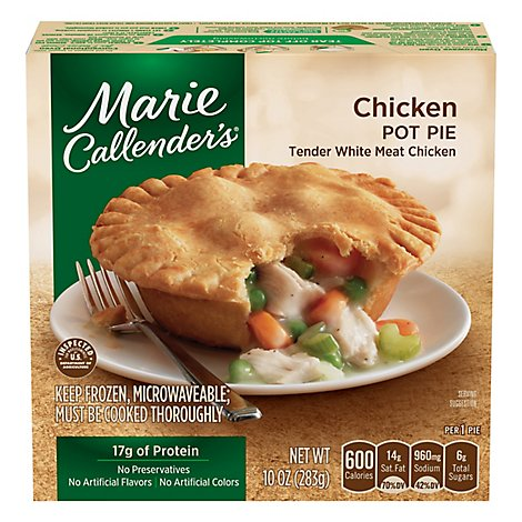 Marie Callenders Entree Pot Pie Chicken - 10 Oz