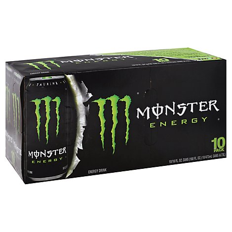 Monster Energy Drink Original - 10-16 Fl. Oz.