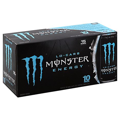 Monster Energy Drink Lo Carb - 10-16 Fl. Oz.