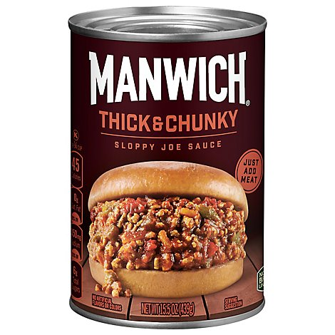 Hunts Manwich Sloppy Joe Sauce Thick & Chunky - 15.5 Oz