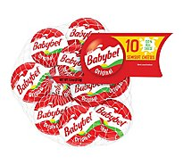 Mini Babybel Original Snack Cheese 10 Pack - 7.5 Oz.