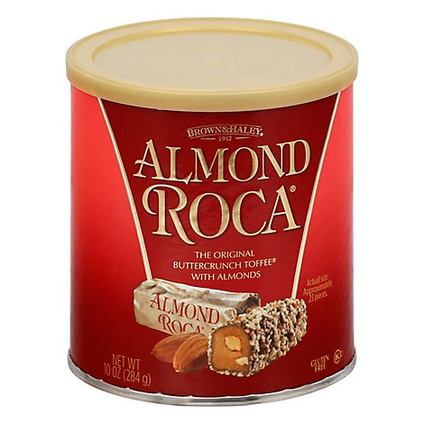 Brown & Haley Roca Buttercrunch Almond Toffee with Almonds - 10 Oz