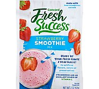 Concord Foods Smoothie Mix Strawberry - 2 Oz