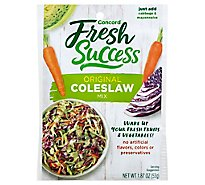 Concord Foods Coleslaw Mix - 2.5 Oz