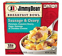 Jimmy Dean Breakfast Bowl Sausage & Gravy - 7 Oz