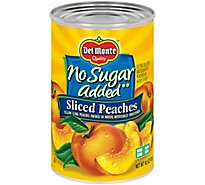 Del Monte Peaches Sliced No Sugar Added - 14.5 Oz