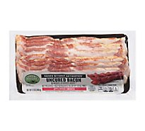 Open Nature Bacon Applewood Smoked Center Cut Uncured - 12 Oz