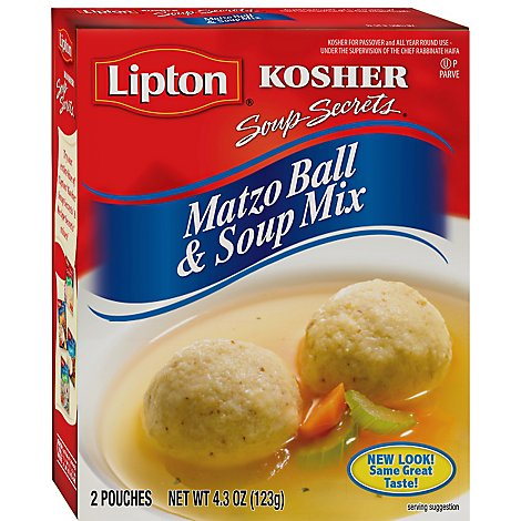 Lipton Soup Secrets Matzo Ball & Soup Mix - 2 Count