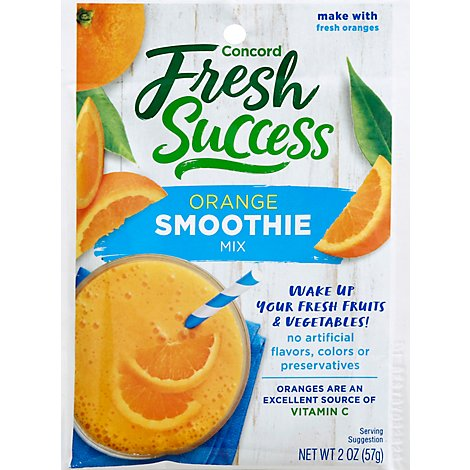 Concord Foods Orange Smoothie Mix - 2 Oz