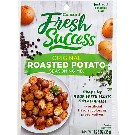Concord Foods Seasoning Mix Roasted Potato - 1.25 Oz