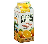 Floridas Natural Orange Juice Most Pulp Chilled - 52 Fl. Oz.