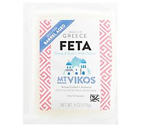 Mt Vikos Cheese Feta Barrel Aged Portions - 6 Oz