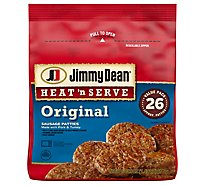 Jimmy Dean Heat N Serve Original Pork Sausage Patties 26 Count - 23.9 Oz
