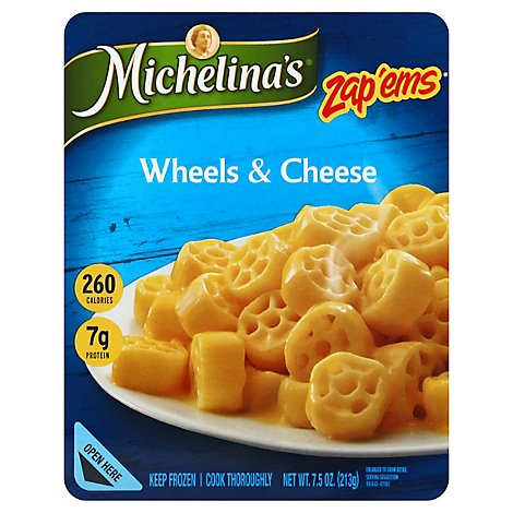 Michelinas Wheels & Cheese - 7.5 Oz