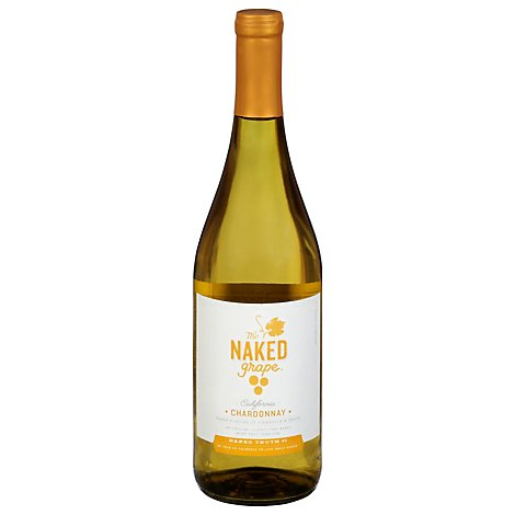 The Naked Grape Chardonnay White Wine - 750 Ml