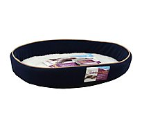 SmartyKat Cat Bed Catnip Lounger 20x16 Inch - Each