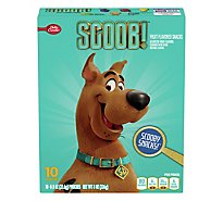 Betty Crocker Fruit Flavored Snacks Assorted Fruit Flavors ScoobyDoo! - 10-0.8 Oz