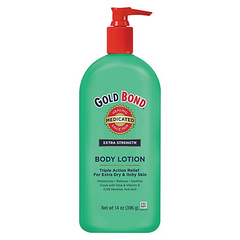 GOLD BOND Medicated Extra Strength Body Lotion - 14 Oz