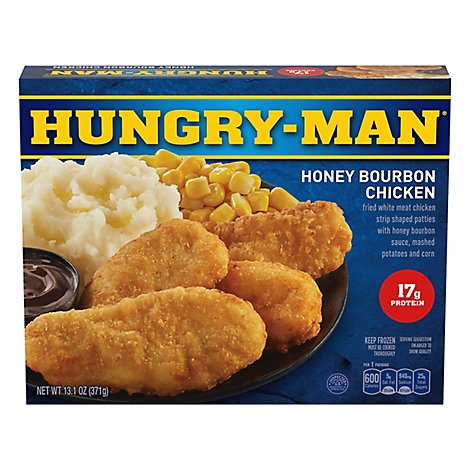 Hungry-Man Pub Favorites Honey Bourbon Chicken Strips - 13.1 Oz