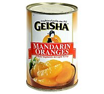 Geisha Mandarin Oranges in Light Syrup - 15 Oz