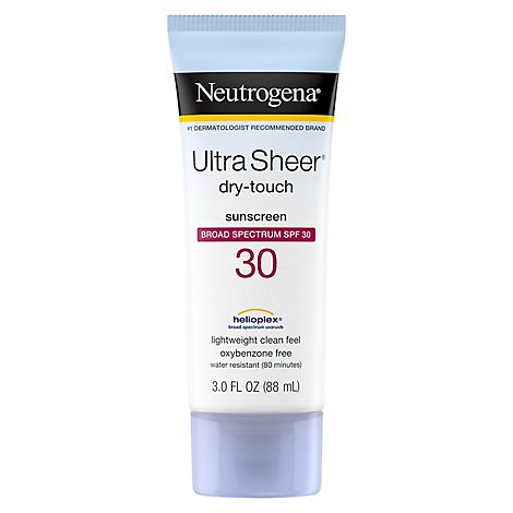 Neutrogena Ultra Sheer Dry Touch Sunblock SPF 30 - 3 Fl. Oz.