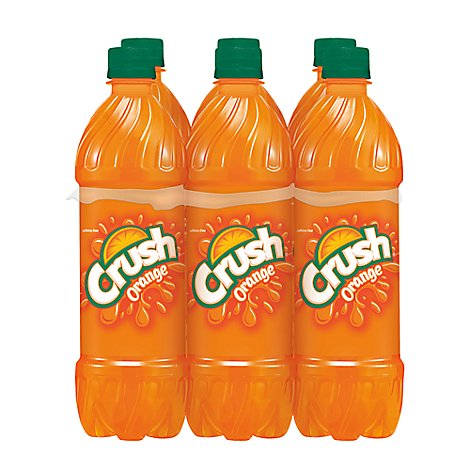 Crush Soda Orange - 6-16.9 Fl. Oz.
