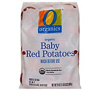 O Organics Potatoes Baby Red - 1.5 Lb
