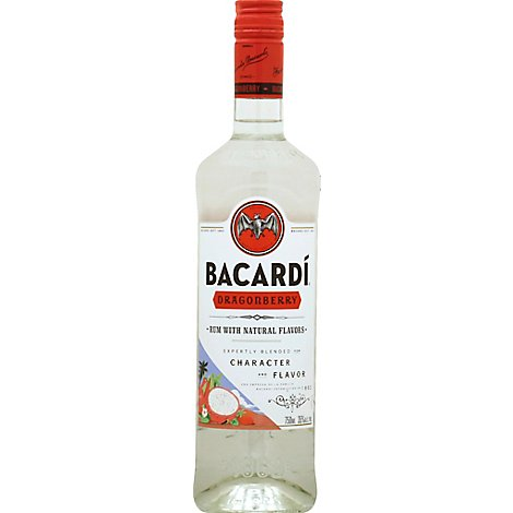 Bacardi Rum Dragonberry 70 Proof - 750 Ml