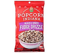 Popcorn Indiana Kettle Corn Drizzled Black & White - 6 Oz