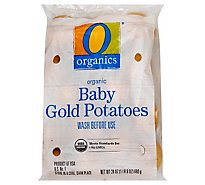 O Organics Organic Potatoes Baby Golden - 1.5 Lb