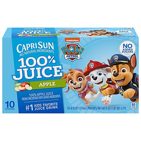 Capri Sun Juice Drink Blend Apple - 10-6 Fl. Oz.