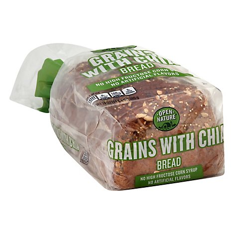 Open Nature Bread Super Grains With Chia - 24 Oz