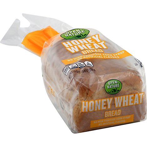 Open Nature Bread Wheat Honey - 24 Oz