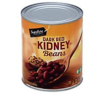 Signature SELECT Beans Kidney Dark Red - 29 Oz