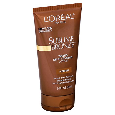LOreal Sublime Bronze Tinted Medium Self Tanning Lotion - 5 Fl. Oz.