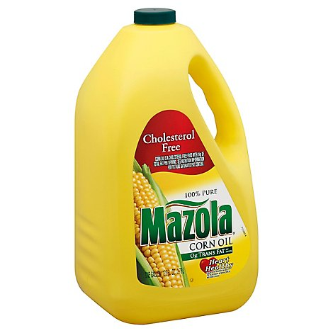 Mazola Corn Oil Cholesterol Free - 1 Gallon
