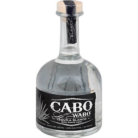 Cabo Wabo Tequila Blanco 80 Proof - 750 Ml