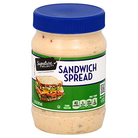 Signature SELECT Sandwich Spread - 15 Fl. Oz.